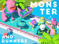 Monster and Runners
