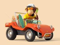 Monkey&Buggy
