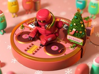 DJ Robot Xmas ver.