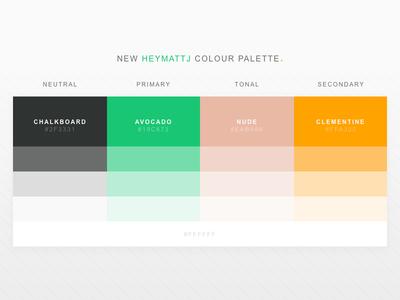 heymattj colour palette