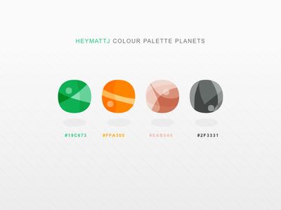 Colour Palette Planets