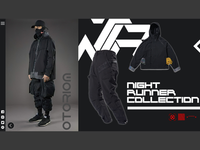 CYBER HYPER VOL.2 uidesign techwear streetwear scifi logo illustrator fashion design fashion brand dark ui cyberpunk