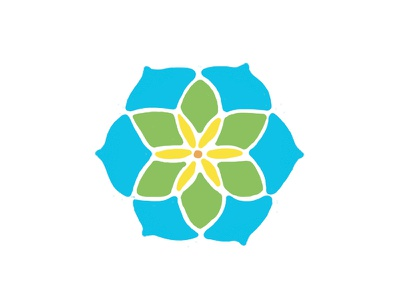 Communitas Logo 3 education medical non-profit health yellow green blue logo