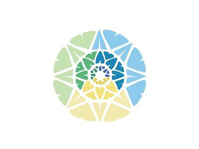 Communitas Logo 4 education medical non-profit health yellow green blue logo