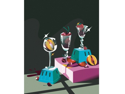 Still Life #07 color design stilllife food vector life illustrator illustration graphic flat