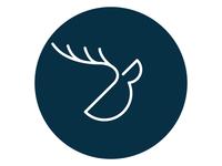 Bijeli jelen logo