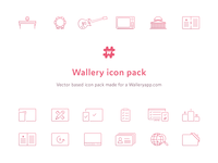 Wallery Icons