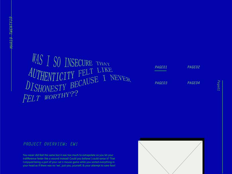 Brutal Web Layout w/ Insecure Lorem Ipsum