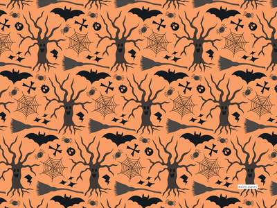 halloween1 pattern a day patterns pattern art illustration textile design surface design textile pattern print design surface pattern pattern design