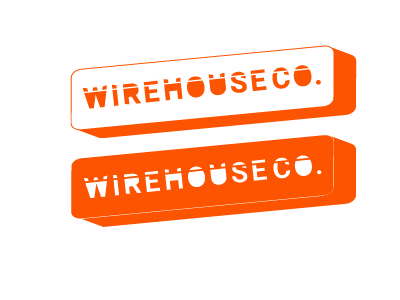 Wirehouse Exploration logo wirehouse house wire explore orange