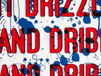 Postal perk-up poster - Drizzle and Dribbles and Drips