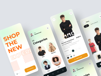 E-commerce Cloth - Mobile App shop shoping mobile app design app design mobile app mobile ui app design mobile e-commerce design e-commerce shop cloth fashiondesigner