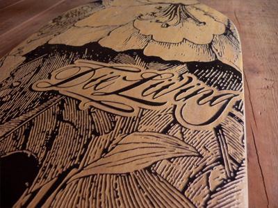 Losee Longboards Detail longboard losee longboards illustration