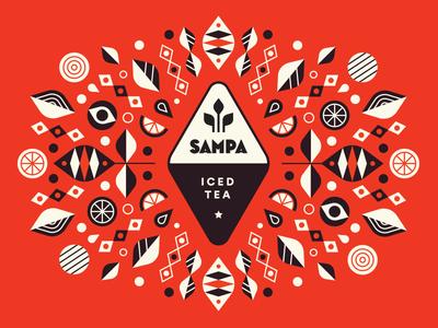 Sampa Tea Company - Graphic
