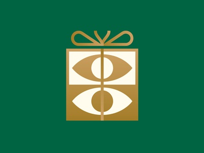 Gravual Is Turning 3 Years Old present birthday gift gold modern midcentury gradient logo