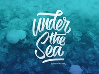 Under The Sea | Brush Pen