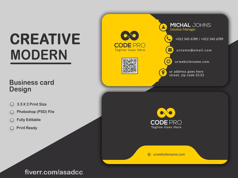 Creative Business Card Design business card business cards businesscard buttons business card design template business card design ideas business card design