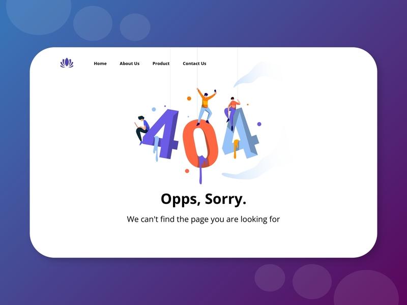 Daily 008 - 404 error page error message 404 404 error page 404 error 404 page 404page logo animation design icon web design web illustration ux ui 008 daily ui dailyui daily