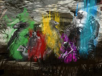 Guild Wars 2 Future Races Concept