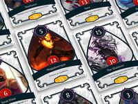 Guild Wars 2 Card Game Legendary Cards 3/4