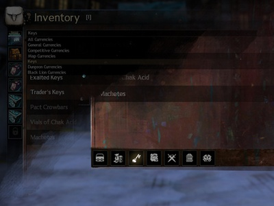 GW2 Game Inventory UX/UI Improvement tabs inventory improvement game ui ux guild wars