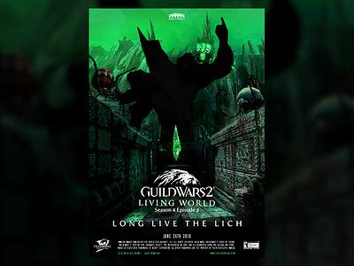 Guild Wars 2 S4E03 Movie Poster gw2 guildwars2 season poster movie guild wars