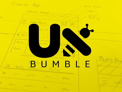UxBumble Logo logo design ux uxbumble