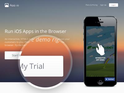 Kickfolio is now App.io kickfolio app.io appio color blur iphone ios apps