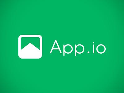 App.io Logo app.io logo branding green kickfolio