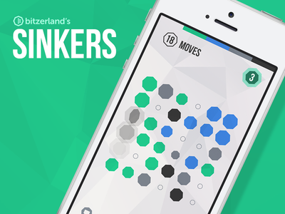 Sinkers is out now! bitzerland sinkers ios game app store download