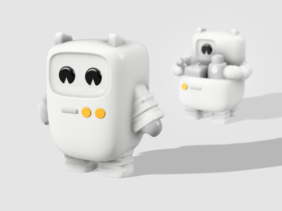Minto and Friend minto 3d character vinyl toy print formlabs