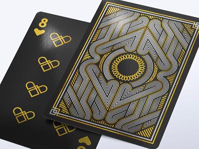 Affluence Card Deck gold foil illustrator vector pack joker ace deck card