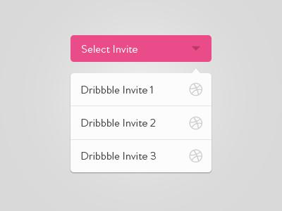 Select Your Dribbble Invite [PSD] dribble invites 3