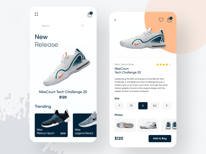 Nike Online Store App mobile app mobile shoes store shoes nike shoes nike store online store online shop uidesign uxdesign