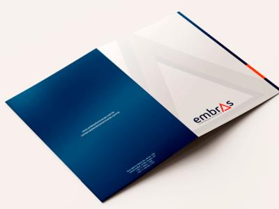 Embras Iluminação Eficiente pasta folder logo design logo identity brand iluminação