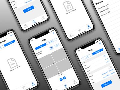 Viewer APP design mobile ui viewer ux app ui design design