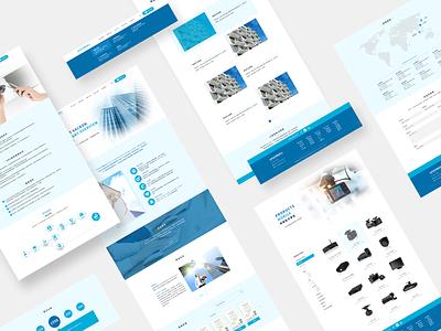 B2B Website Redesign ux mockup b2b website web ui design design