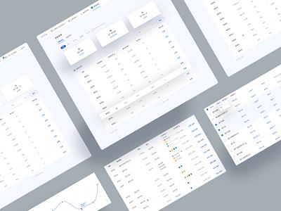 Order Management Platform data visualization database sales marketing saas design platform web ui design design