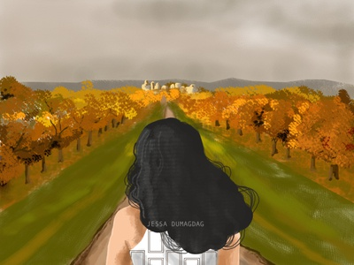 Long Walk artwork art digital painting digital art
