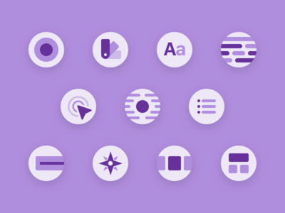 Pattern Library - Iconography