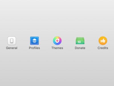 Hocus Focus 2 - Settings Icons