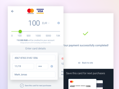 Deposit mobile concept user interface user experience igaming payments ux ui