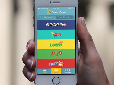Lotto iOS App