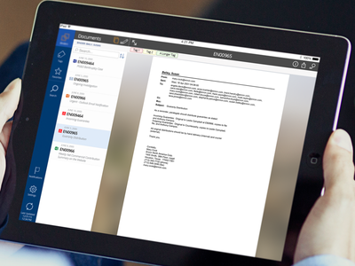Document Review App ios ipad