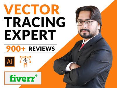Vector Tracing - Convert logo to Vector vector upwork fverr designer branding logo illustration vector tracing convert to vector adobe illustrator