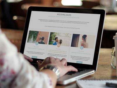 Wedding Blog website minimal blog wedding