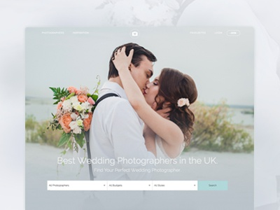 Photography Search Page