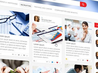 VitaminT close-up ui menu interface clean web webdesign ux site social flat 3d fold