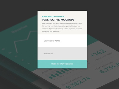 Perspective Mockups - Photoshop Actions