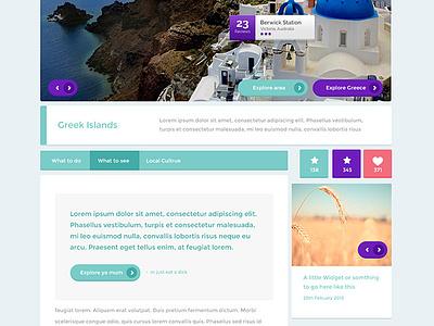 Free Psd Website Templates  webdesign websites ui design web flat web design free psds psds free